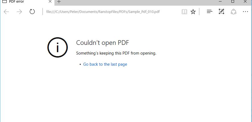 Petya encrypted pdf