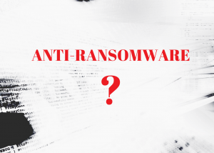 what is anti-ransomware